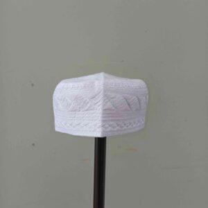 Al Iman Uniforms 3 - White Peci