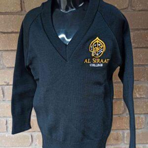 Al Siraat Uniforms 2 - Primary Boys Black Woollen Jumper