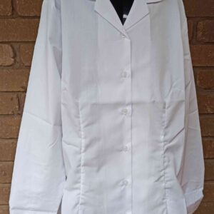 Al Siraat Uniforms 3 - Secondary Girls White Blouse Long Sleeve