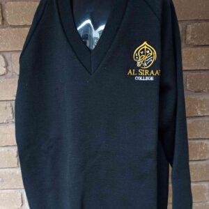 Al Siraat Uniforms 4 - Secondary Black Woollen Jumper